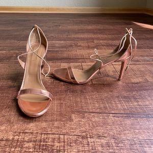 Aquazzura copper color 11M(41) open toe sandals